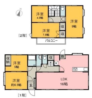 5LDK。古民家風の住宅を丁寧にリノベーション♪♪ 敷地150坪以上!